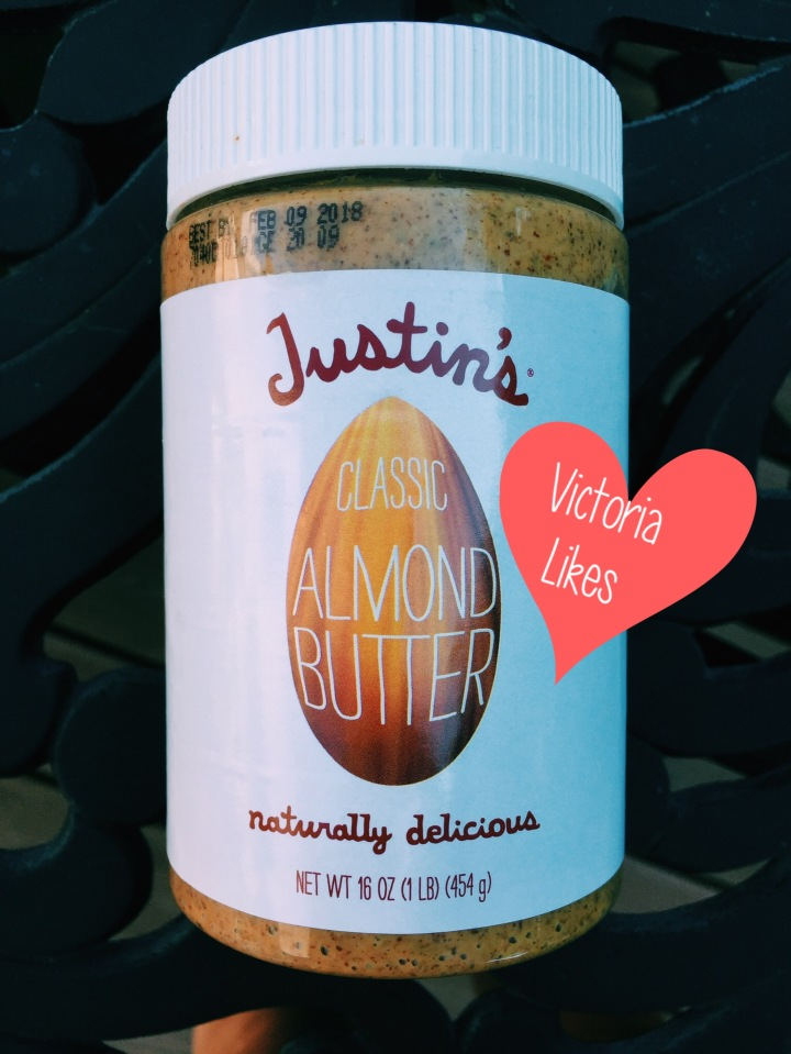Victoria Likes… Justin's Nut Butter!